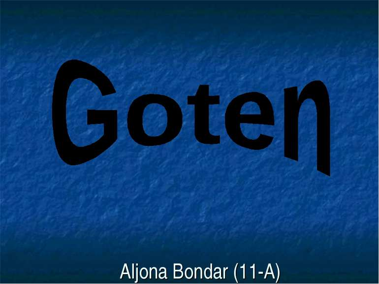 Aljona Bondar (11-A)