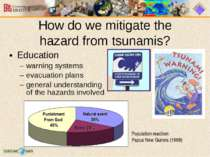 Education warning systems evacuation plans general understanding of the hazar...