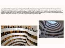 У 1937 році був заснований Фонд Соломона Гуггенхайма, колекція полотен швидко...