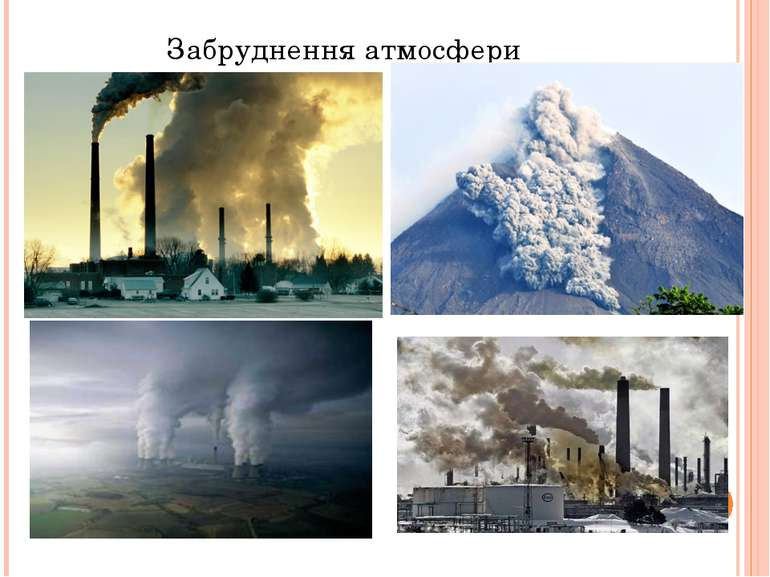 Забруднення атмосфери