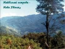 Найбільші острови - Нова Гвінея,