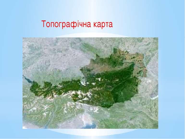 Топографічна карта