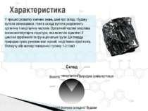 Характеристика У процесі розвитку хімічних знань дані про склад і будову вугі...
