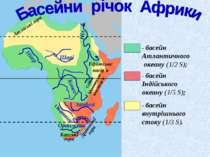 Капські гори Драконові гори Ефіопське нагір'я Східно-Африканське плоскогір'я ...
