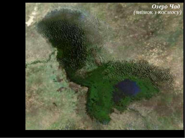 Озеро Чад (знімок з космосу)