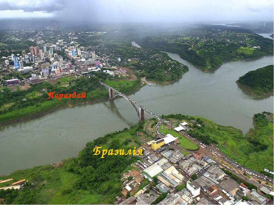 Парагвай Бразилія