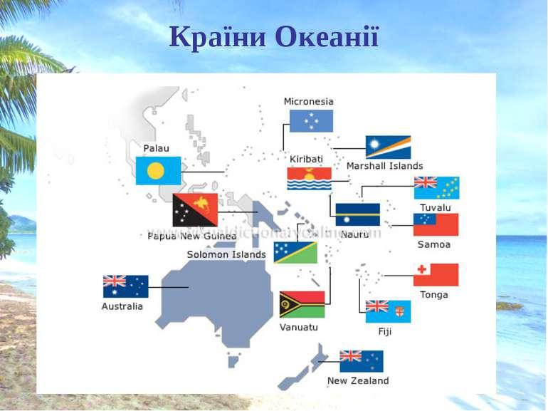 Країни Океанії