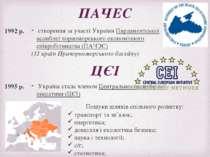 ПАЧЕС створення за участі України Парламентської асамблеї чорноморського екон...