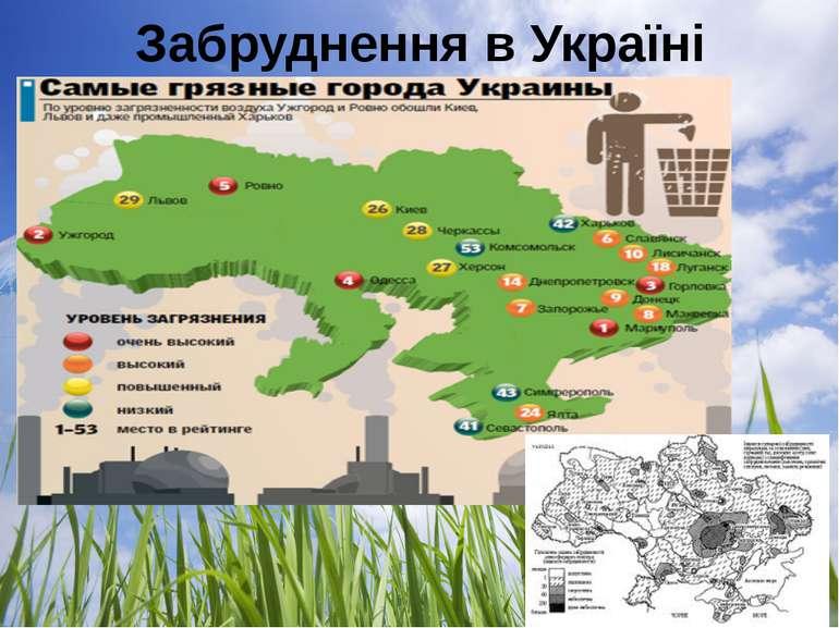 Забруднення в Україні