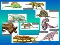Пеликозавр Иностранцевия Сфенакодонт Ivantosaurus Тапиноцефал Антеозавр Эсте...