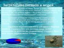 Загрязнение океанов и морей Ежегодно в Мировой океан попадает более 10 млн.т ...