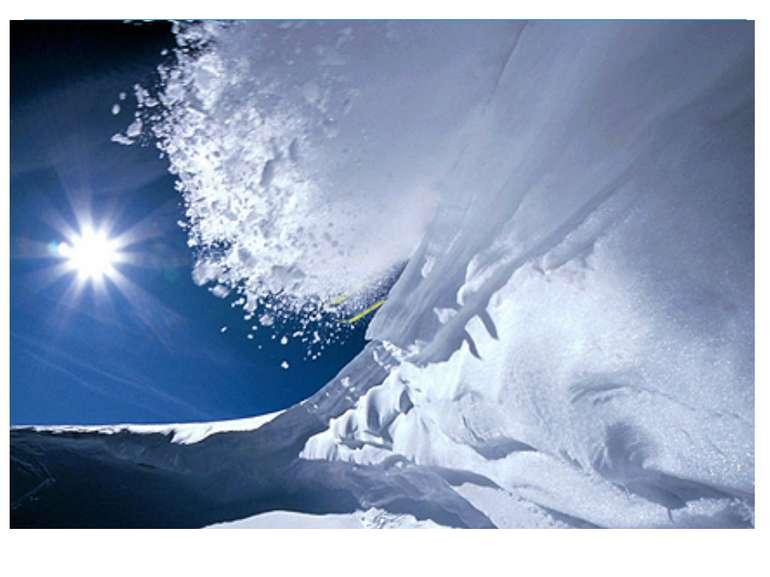 В залежності від причин утворення снігового покриву виділяють: сухі лавини; м...