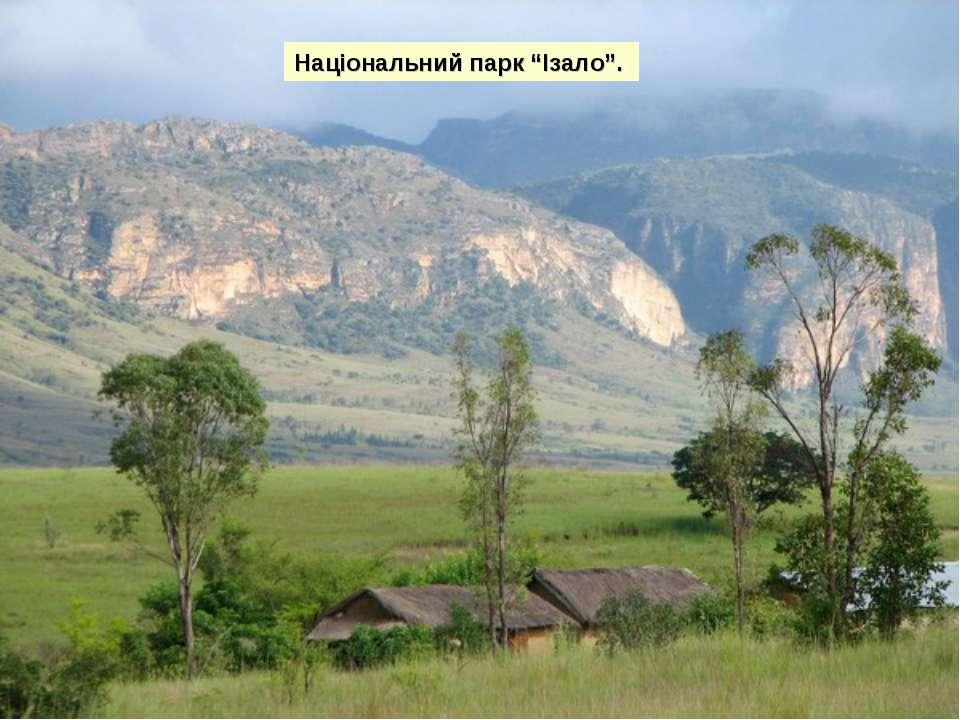 """Національний парк """"Ізало""""."""