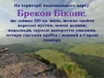 На території національного парку Брекон Біконс, що займає 520 кв. миль, можна...