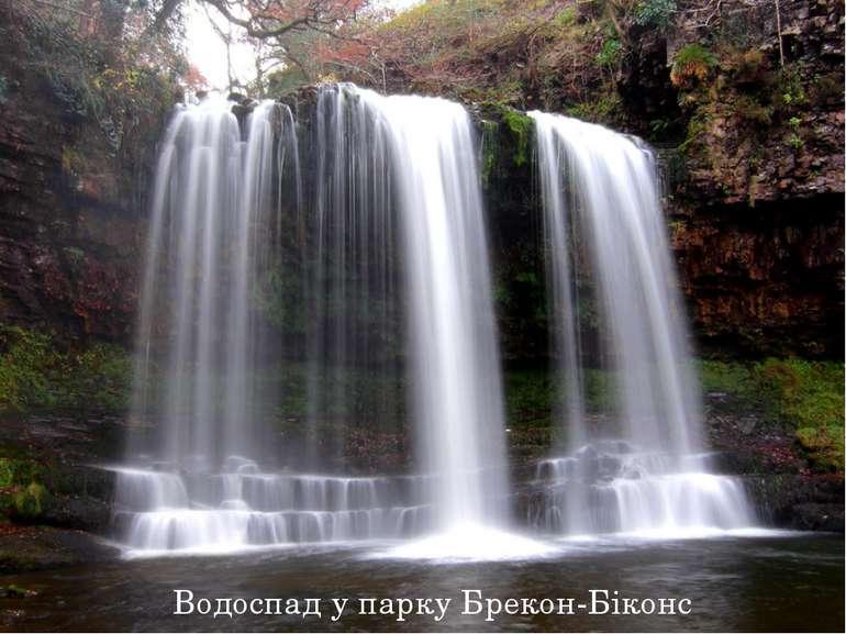 Водоспад у парку Брекон-Біконс
