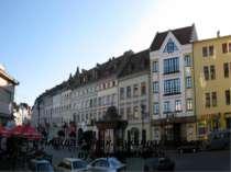 Площа Ринок. Будинки вздовж вулиці Галицька.