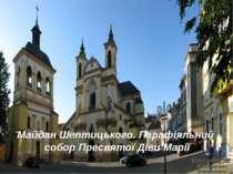 Майдан Шептицького. Парафіяльний собор Пресвятої Діви Марії
