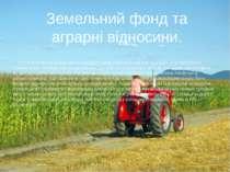 У розвинутих країнах значна частина земельного фонду є власністю компаній і ф...