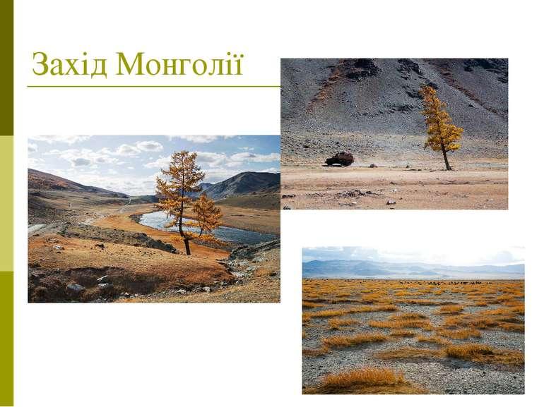 Захід Монголії
