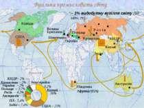 Електроенергетика світу США 3892 Китай 2190 Японія 1017 Р о с і я 931 Канада ...