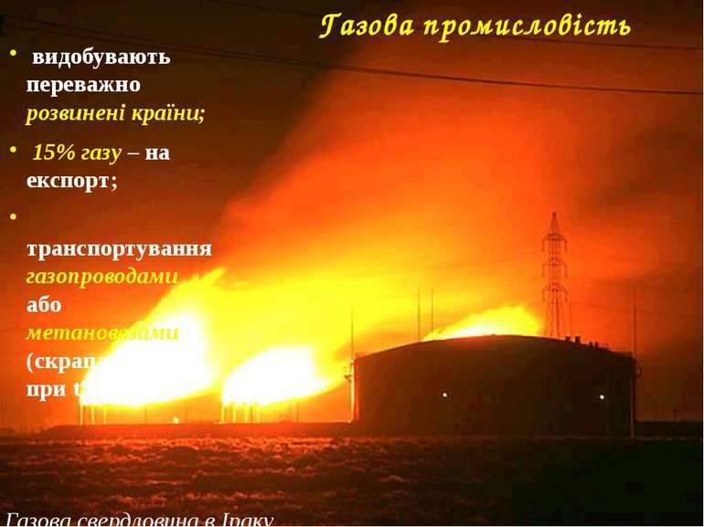 Велика Британія Газова промисловість світу Р о с і я Росія – 21,6% США США – ...