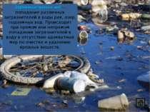 Загрязнение пресных вод — попадание различных загрязнителей в воды рек, озер,...