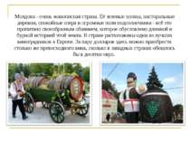Молдова - очень живописная страна. Её зеленые холмы, пасторальные деревни, сп...