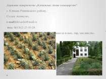 """Державне підприємство """"Клеванське лісове господарство"""" с. Клевань Рівненськог..."""