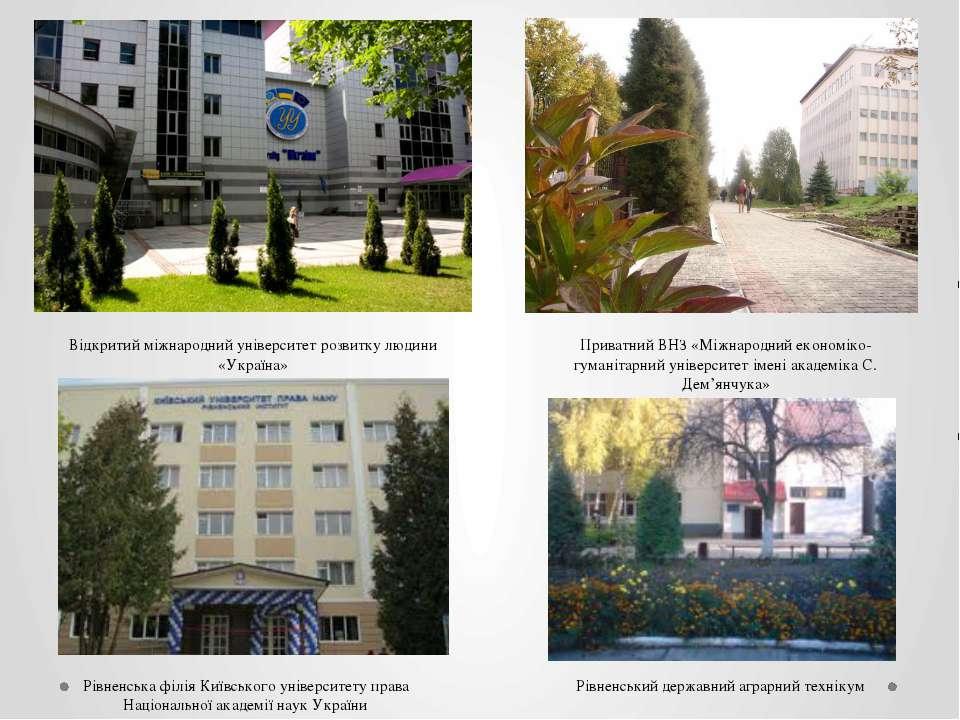 Відкритий міжнародний університет розвитку людини «Україна» Приватний ВНЗ «Мі...