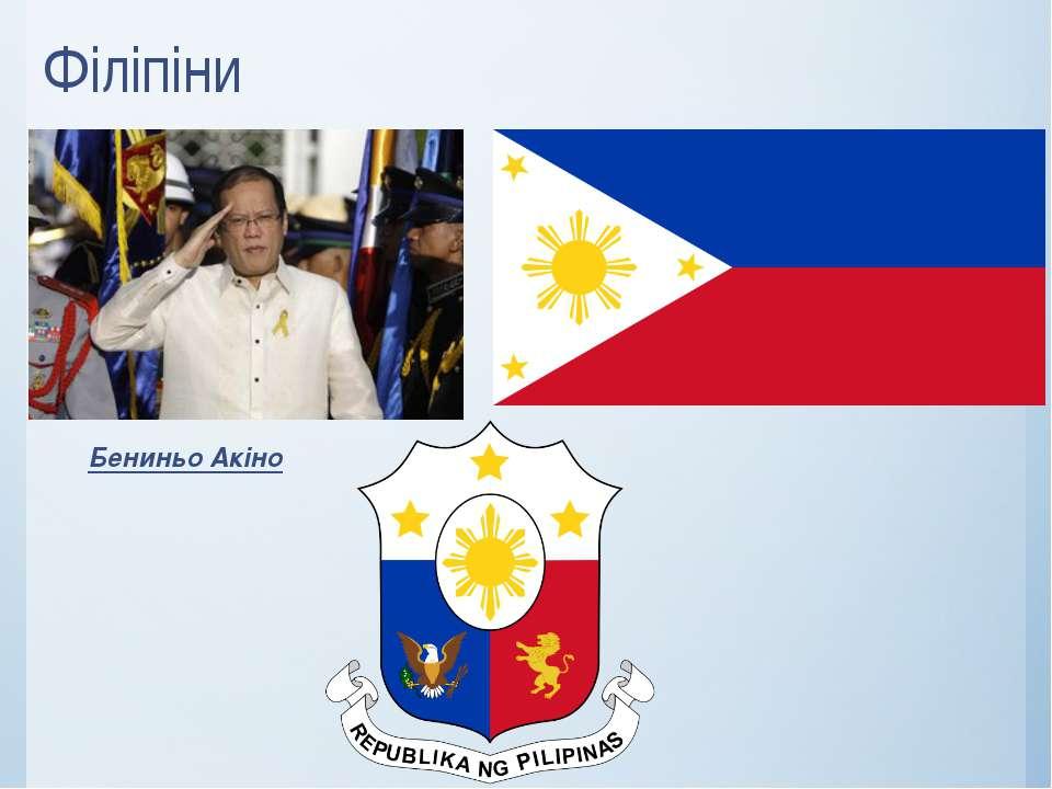 Філіпіни Бениньо Акіно