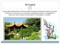 СадДружбы представляет собой настоящее наследие китайской истории икультуры...