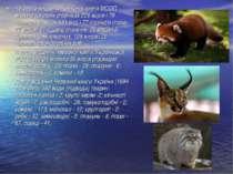 Четверте видання Червоної книги МСОП містило на своїх сторінках 226 видів і 7...