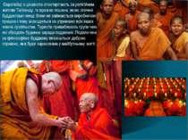 Європейці з цікавістю спостерігають за релігійним життям Таїланду. їх вражає ...