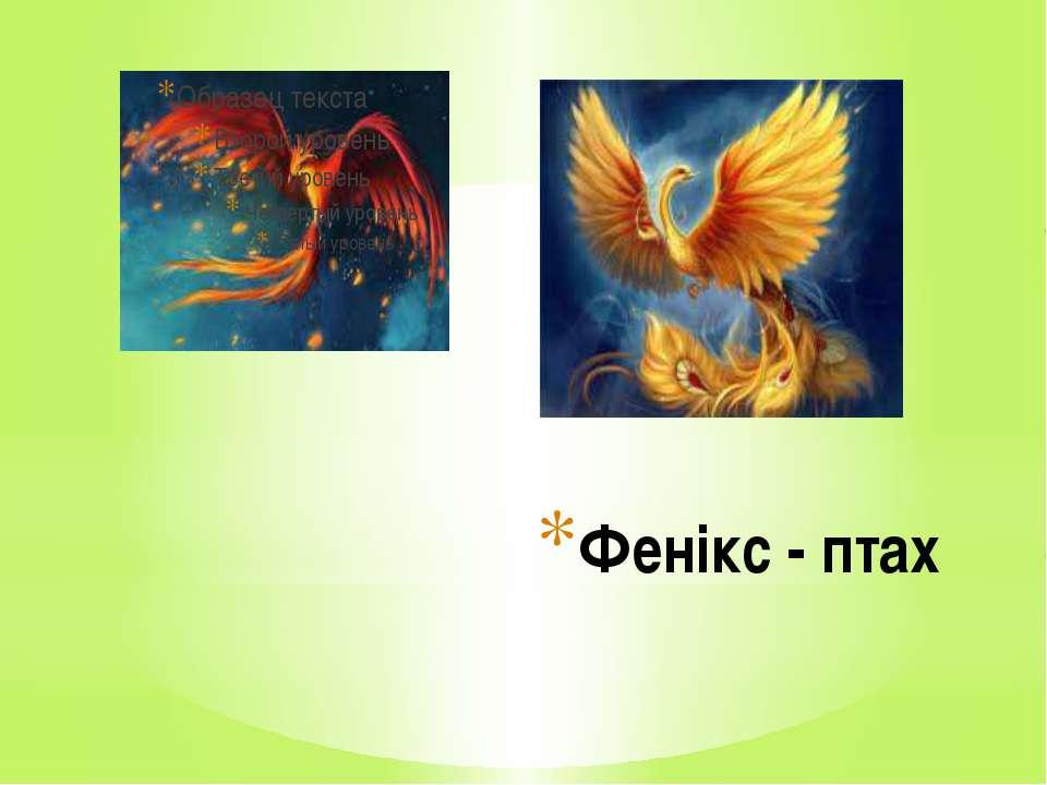 Фенікс - птах