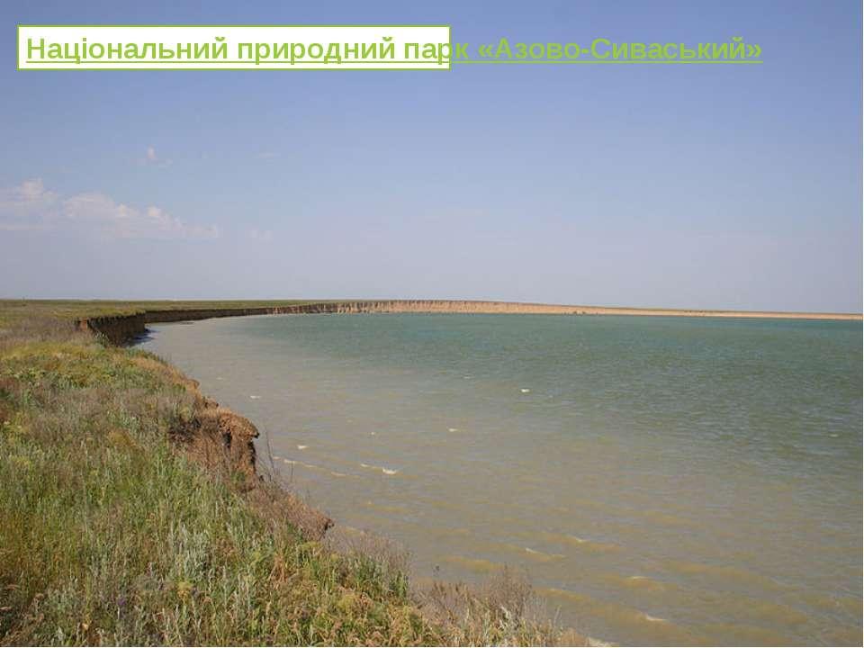 Національний природний парк «Азово-Сиваський»