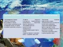 Проблема освоєння Світового океану