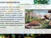 У рослинному світі основним ароморфозом є поява насіння (переважно у папороте...