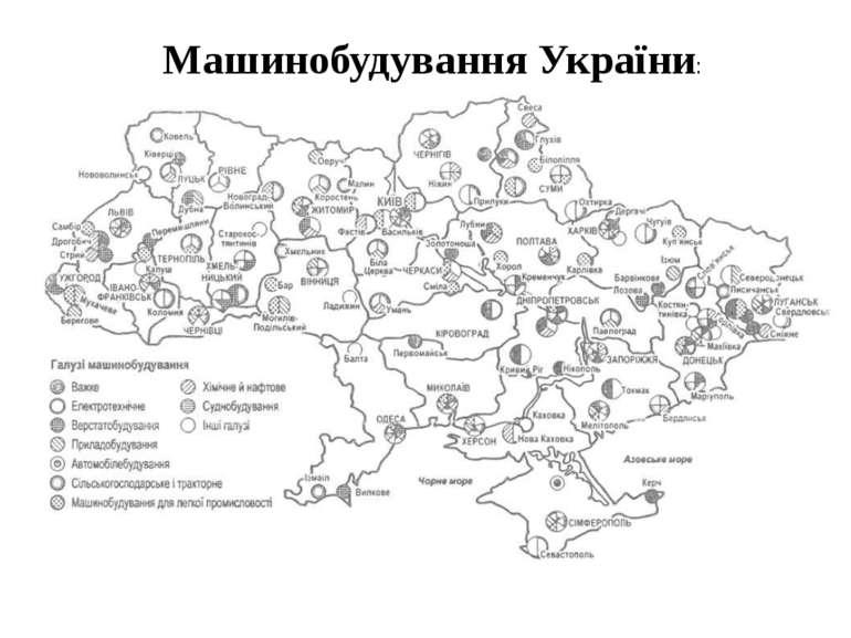 Машинобудування України: