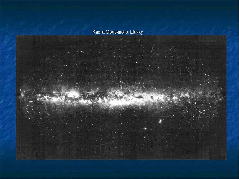 Карта Молочного Шляху