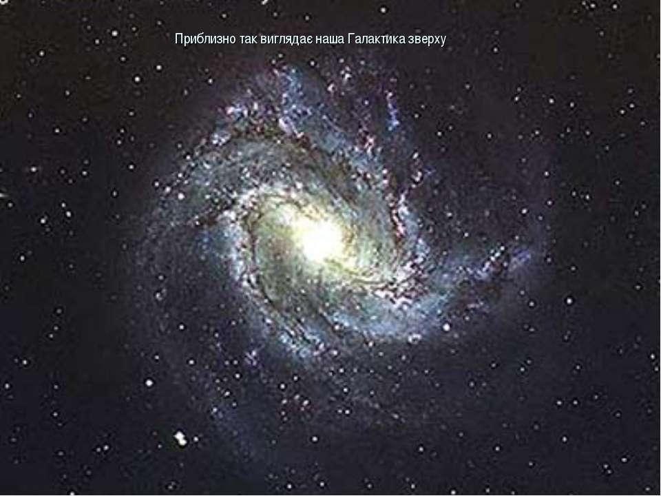 Приблизно так виглядає наша Галактика зверху