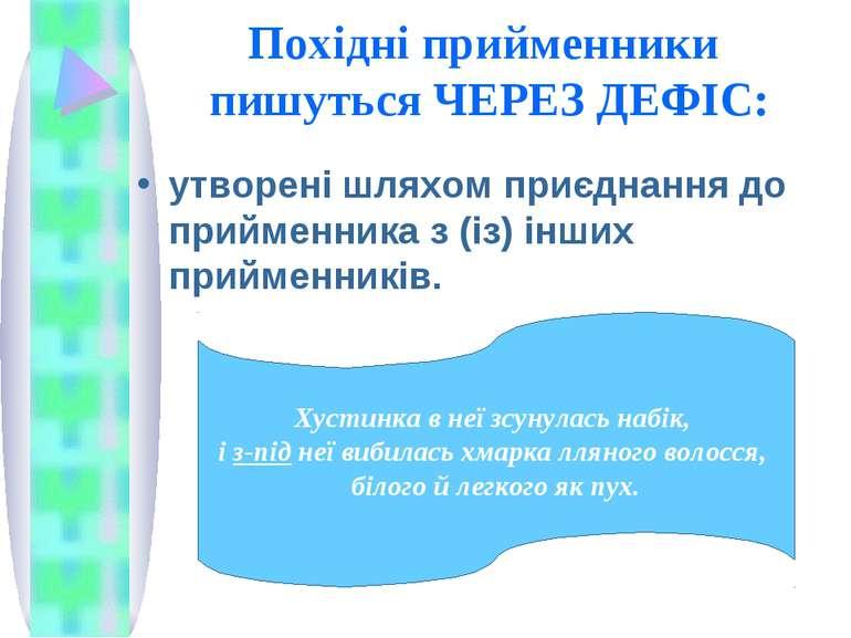 Похідні прийменники пишуться ЧЕРЕЗ ДЕФІС: утворені шляхом приєднання до прийм...