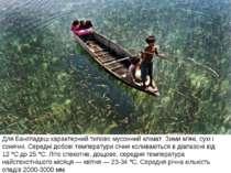 Для Бангладеш характерний типовомусонний клімат. Зими м'які, сухі і сонячні....