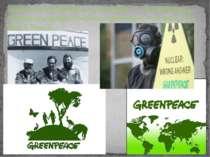 Ґрінпіс (англ. Greenpeace, у перекладі — «зелений мир») — міжнародна природоо...