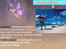 Економіка Переваги: стимулююча економіку політика і дешева робоча сила залуча...