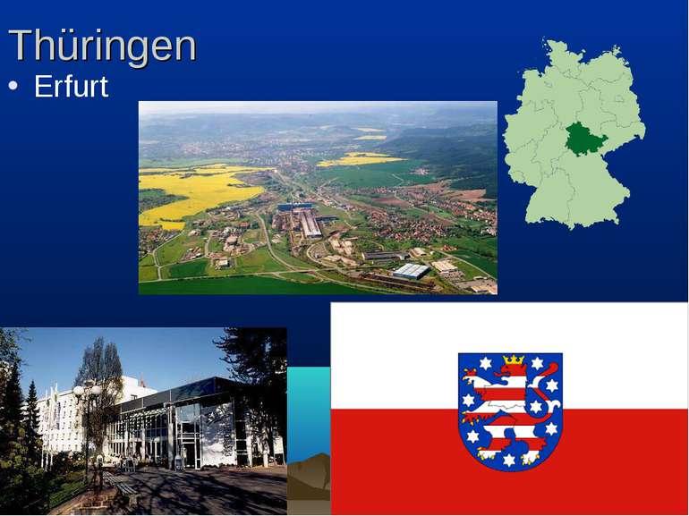 Thüringen Erfurt