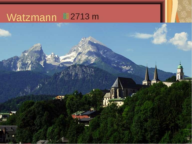 Watzmann 2713 m