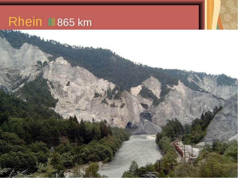 Rhein 865 km