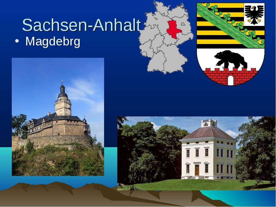 Sachsen-Anhalt Magdebrg