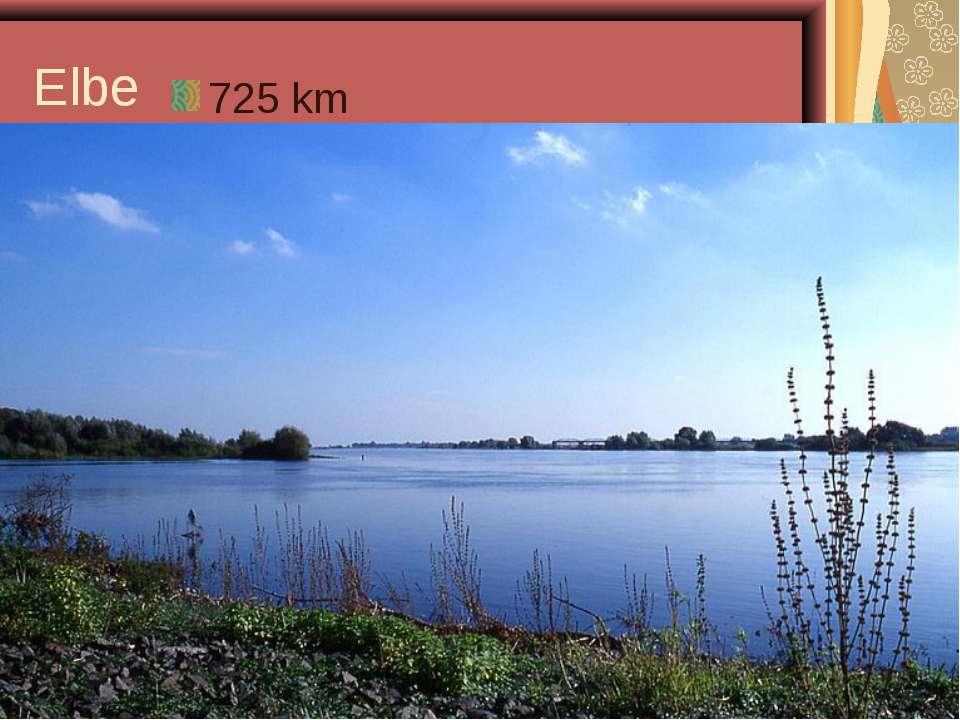 Elbe 725 km