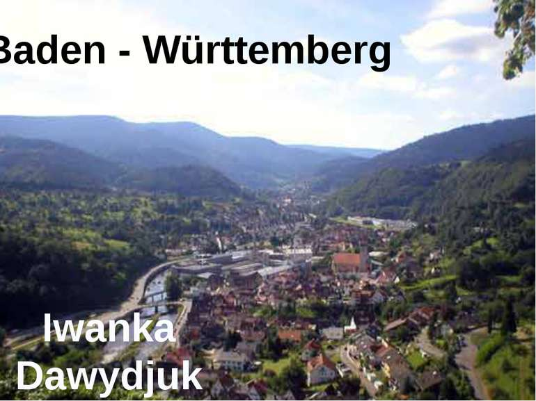 Baden - Württemberg Iwanka Dawydjuk